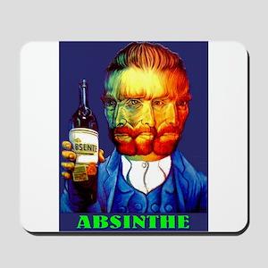 Absinthe Liquor Drink Mousepad
