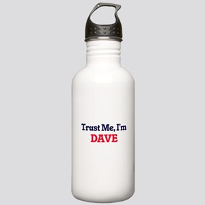 Trust Me, I'm Dave Stainless Water Bottle 1.0L
