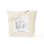 Extinction Cartoon 9325 Tote Bag
