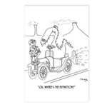 Extinction Cartoon 9325 Postcards (Package of 8)