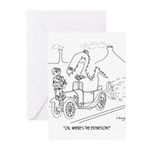 Extinction Cartoon 9325 Greeting Cards (Pk of 10)