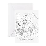 Extinction Cartoon 9325 Greeting Cards (Pk of 20)