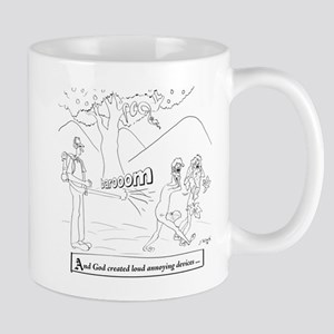 Leaf Blower Cartoon 9326 Mug