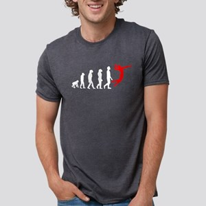 Volleyball Evolution (Red) T-Shirt