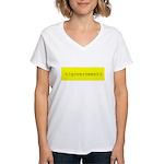 </government> Women's V-Neck T-Shirt