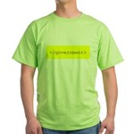 </government> Green T-Shirt