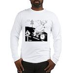 Deer Cartoon 6721 Long Sleeve T-Shirt