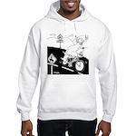 Deer Cartoon 6721 Hooded Sweatshirt