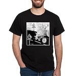 Deer Cartoon 6721 Dark T-Shirt