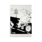 Deer Cartoon 6721 Rectangle Magnet (10 pack)