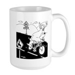 Deer Cartoon 6721 Large Mug