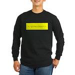 </government> Long Sleeve Dark T-Shirt