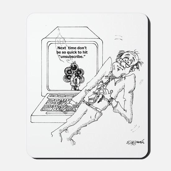 Computer Cartoon 9328 Mousepad