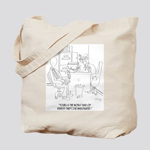 Identity Theft Cartoon 9239 Tote Bag