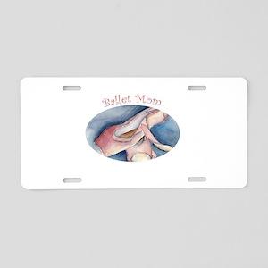 balletmom Aluminum License Plate