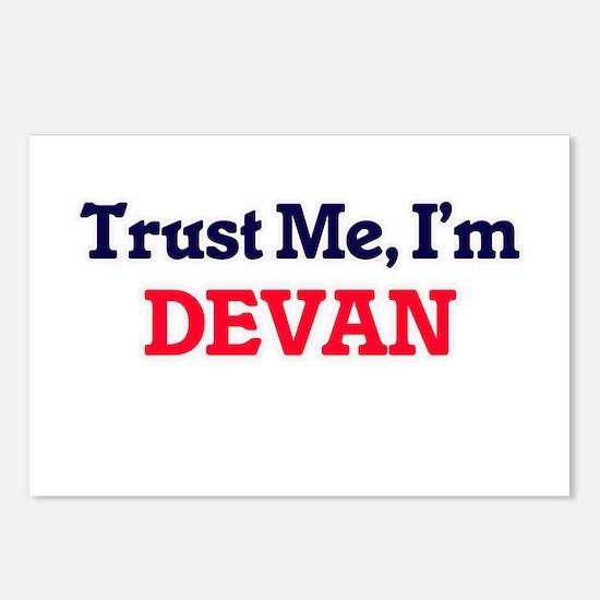 Trust Me, I'm Devan Postcards (Package of 8)