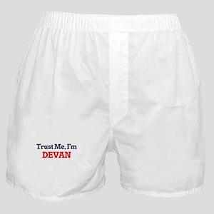 Trust Me, I'm Devan Boxer Shorts