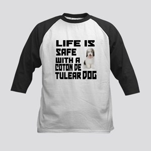Life Is Safe With A Coton De Kids Baseball Jersey