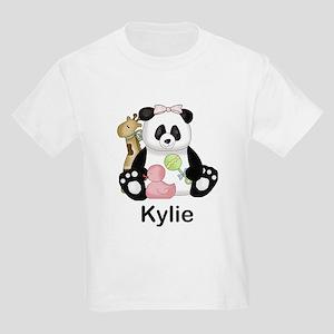 kylie's little panda Kids Light T-Shirt