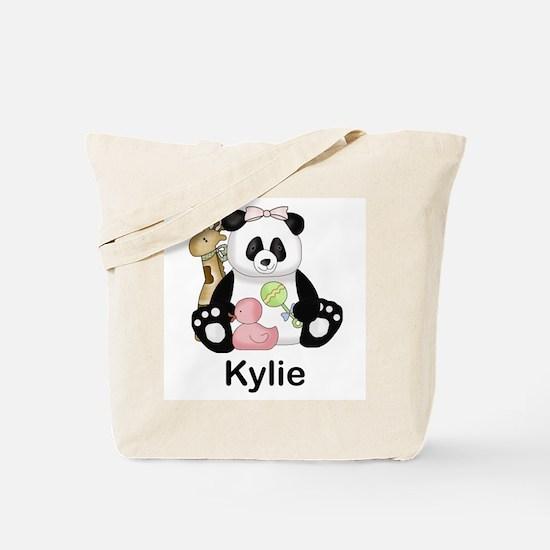 kylie's little panda Tote Bag