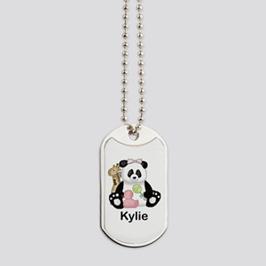 kylie's little panda Dog Tags