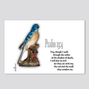 Psalm 23:4 Postcards (Package of 8)