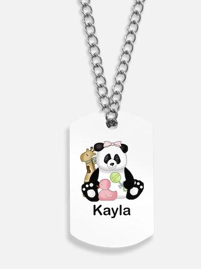 kayla's little panda Dog Tags