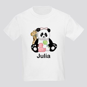 julia's little panda Kids Light T-Shirt