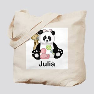 julia's little panda Tote Bag