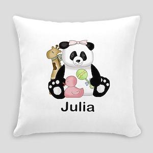 julia's little panda Everyday Pillow