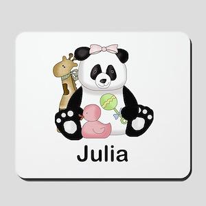 julia's little panda Mousepad