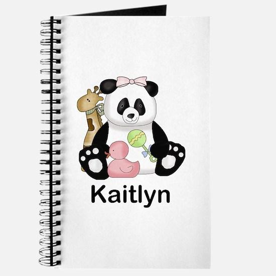 kaitlyn's little panda Journal