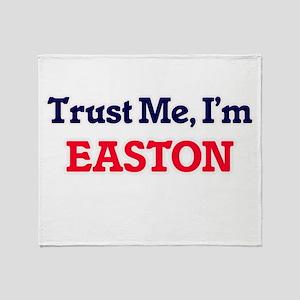Trust Me, I'm Easton Throw Blanket
