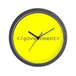 </government> Wall Clock