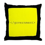 </government> Throw Pillow