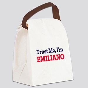 Trust Me, I'm Emiliano Canvas Lunch Bag
