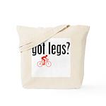 legs shirt red Tote Bag