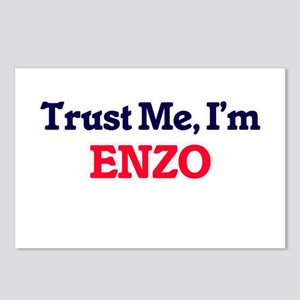 Trust Me, I'm Enzo Postcards (Package of 8)