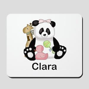 clara's little panda Mousepad