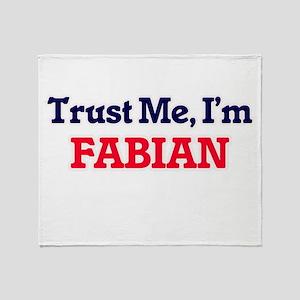 Trust Me, I'm Fabian Throw Blanket