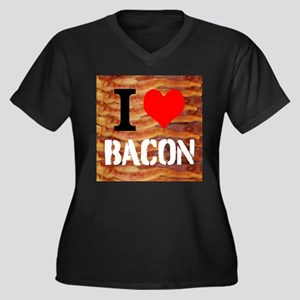 I Love Bacon Plus Size T-Shirt