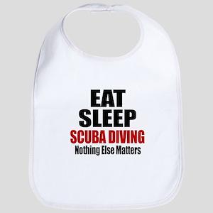 Eat Sleep Scuba Diving Bib
