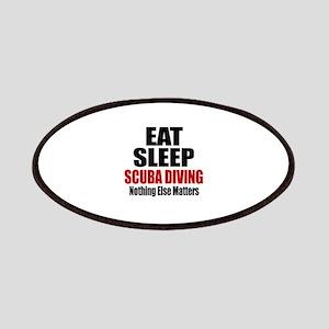 Eat Sleep Scuba Diving Patch