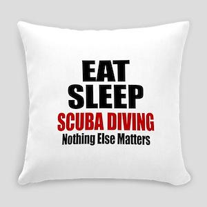 Eat Sleep Scuba Diving Everyday Pillow