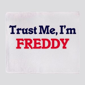 Trust Me, I'm Freddy Throw Blanket