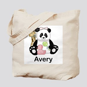 avery's little panda Tote Bag