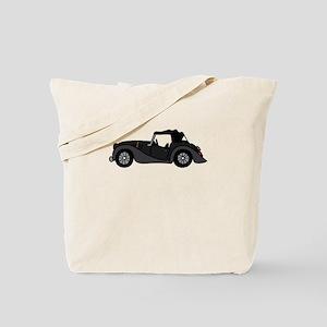 Black Morgan Car Cartoon Tote Bag
