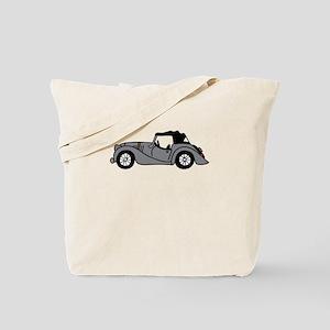Gray Morgan Car Cartoon Tote Bag