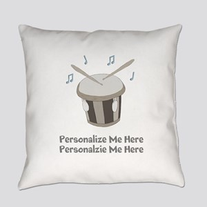 Personalized Drum Everyday Pillow