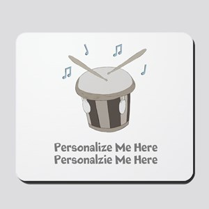 Personalized Drum Mousepad